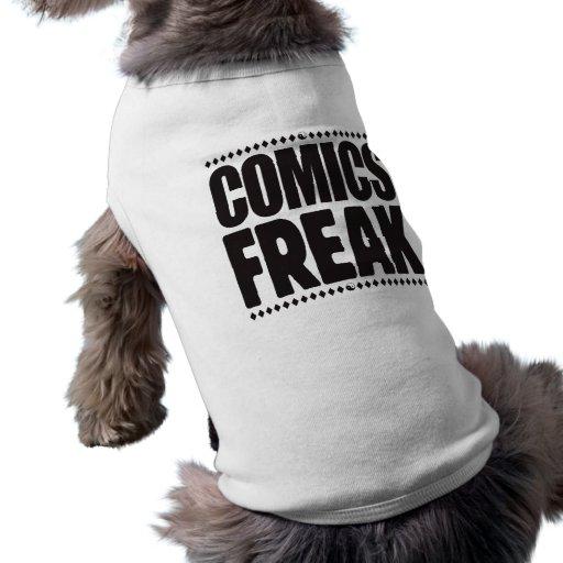 Comics Freak Pet Shirt