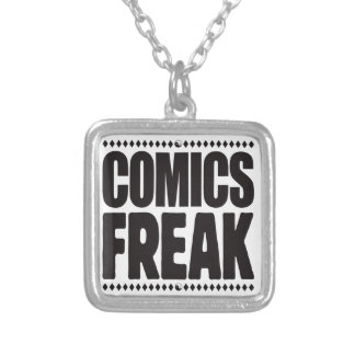 Comics Freak Personalised Necklace