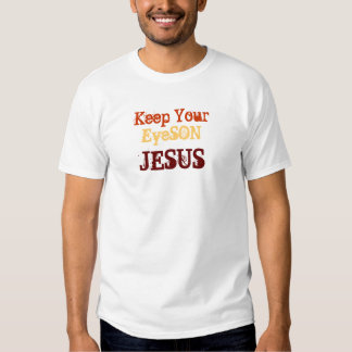 Coming Home Again Man of Distinction Eyeson Jesus Tee Shirt