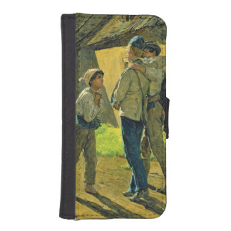 Coming home from the war, 1859 iPhone SE/5/5s wallet case