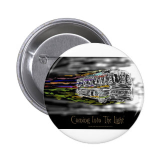 Coming Into The Light 6 Cm Round Badge