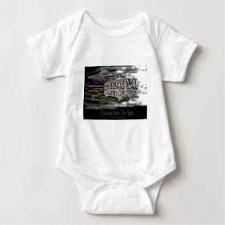 Coming Into The Light Baby Bodysuit