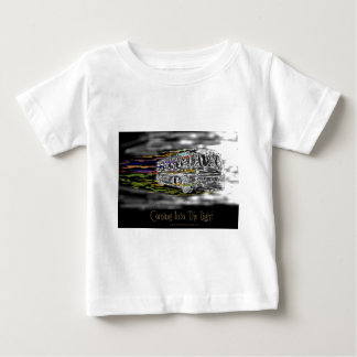 Coming Into The Light Baby T-Shirt