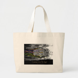 Coming Into The Light Large Tote Bag