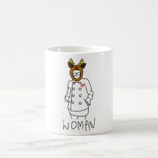 Coming involving gal coffee mug