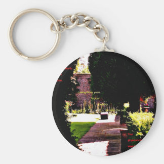 Coming of age key ring