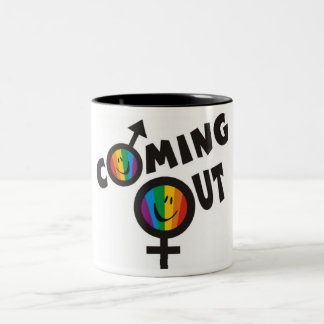 Coming Out Gay Pride Mugs