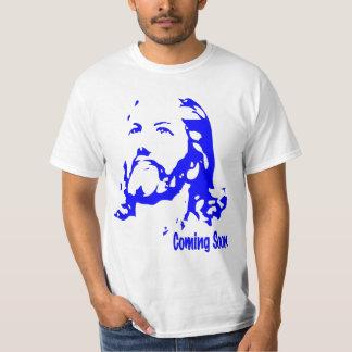 Coming Soon is Jesus Shirt Blue Print