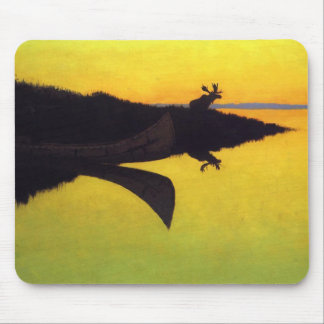 Coming to the Call by Frederic Remington Mouse Pad