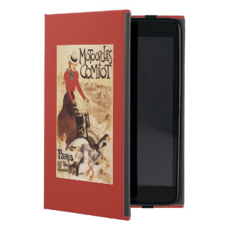 Comiot Motocycles Woman and Geese Promo Poster Case For iPad Mini