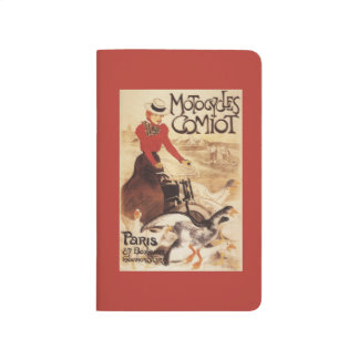 Comiot Motocycles Woman and Geese Promo Poster Journals