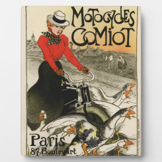 Comiot Motorcycles Photo Plaques