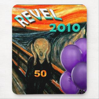 Comis Scream 50th Birthday Mouse Pad
