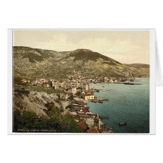 Comisa, near Lissa, Dalmatia, Austro-Hungary class Card