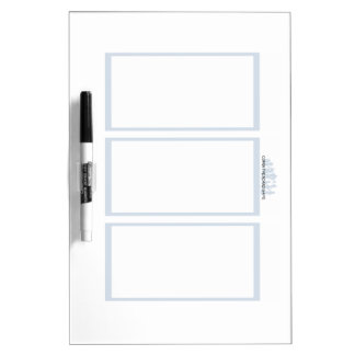 Comix the Board Game- 3 Panel Medium Whiteboard Dry Erase Whiteboard