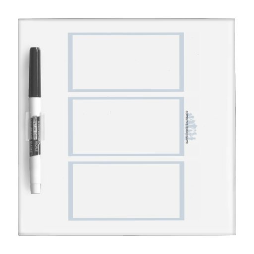 Comix the Board Game- 3 Panel Medium Whiteboard Dry-Erase Whiteboards