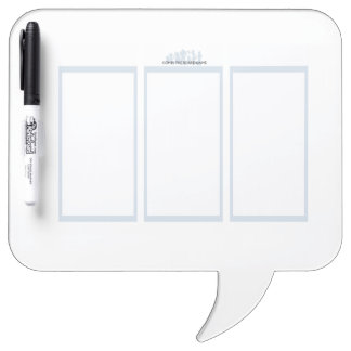 Comix the Board Game- 3 Panel Medium Whiteboard Dry-Erase Boards