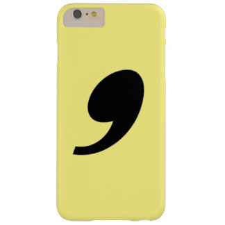 Comma Barely There iPhone 6 Plus Case