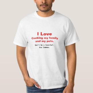 Comma Cannibal Shirts
