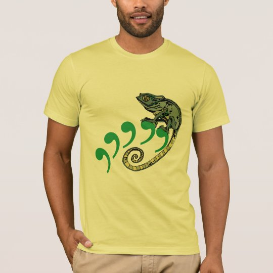 Comma Chameleon Lemon American Apparel Tee