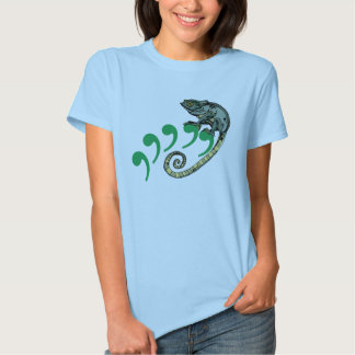 Comma Chameleon Tshirts