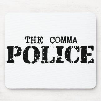Comma Police Mousepad