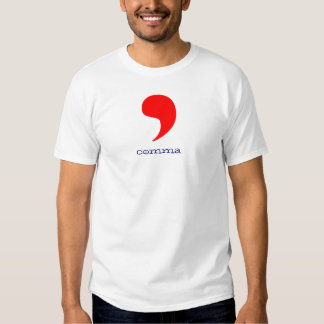 comma shirts