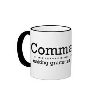 Comma Sutra Mug