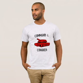 Command and Conquer red tank mens t-shirt