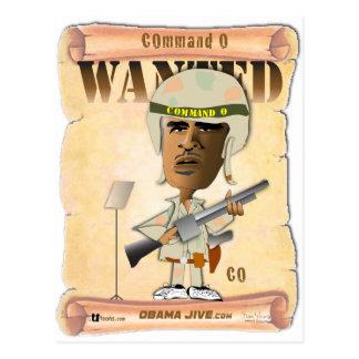 Command O Post Card
