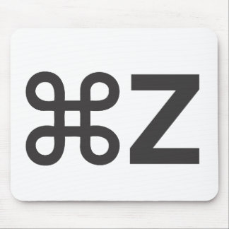 command Z Mouse Pad