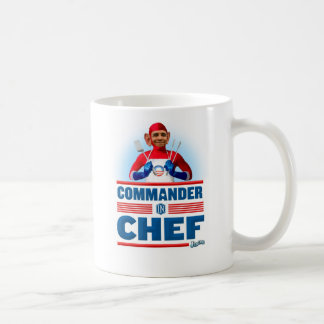 Commander in Chef Coffee Mug