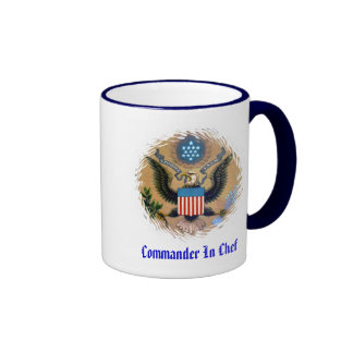 Commander In CHEF Ringer Mug