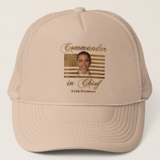 Commander in Chief, Barack Obama Trucker Hat