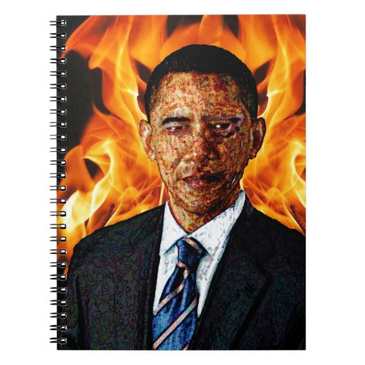 Commander in Chief Spiral Note Book