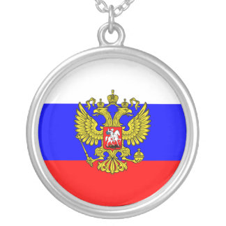 Commander In Chief Of Russia, Russia Personalized Necklace