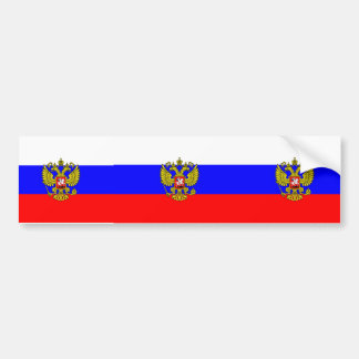 Commander in chief Russia, Russia Bumper Sticker