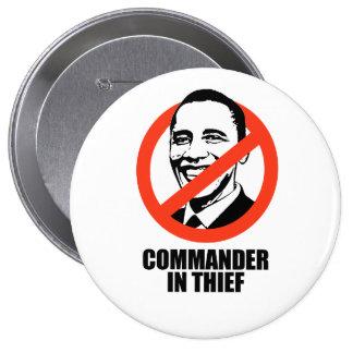 Commander in Thief 10 Cm Round Badge