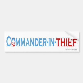 Commander-in-Thief Bumper Stickers