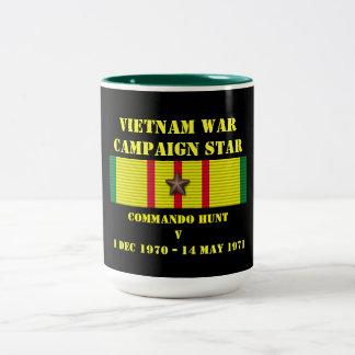 Commando Hunt V Campaign Two-Tone Mug