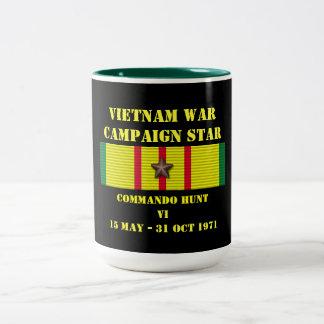 Commando Hunt VI Campaign Two-Tone Coffee Mug