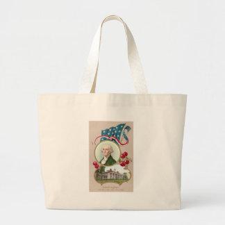 Commemorating George Washington Jumbo Tote Bag