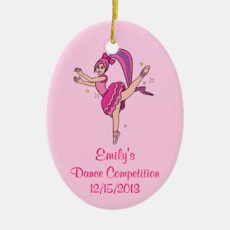 Commemorative Dance Competition Ornament