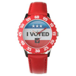 Commemorative • First Election • I Voted Watches