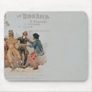 Commemorative Postcard of the opera 'La Mouse Mat