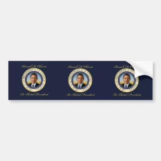 Commemorative President Barack Obama Re-Election Bumper Sticker