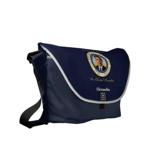 Commemorative President Barack Obama Re-Election Messenger Bag