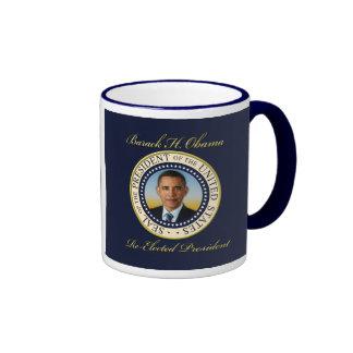 Commemorative President Barack Obama Re-Election Coffee Mug
