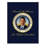 Commemorative President Barack Obama Re-Election Postcards
