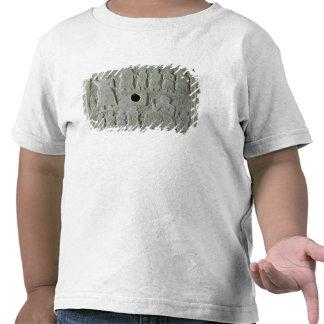 Commemorative relief tee shirt